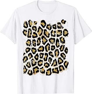 Stylish Leopard Print Design Tshirt Gift