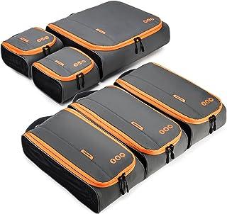 BAGSMART トラベルポーチ 6点セット 衣類収納ケース アレンジケース 出張ケース 大容量 旅行ケース 整理整頓 便利グッズ トラベルケース
