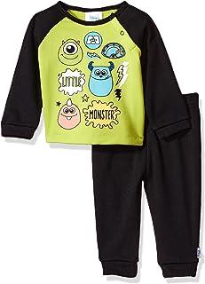 Disney Baby Monsters Inc - Juego de Forro Polar para niño (2 Piezas)