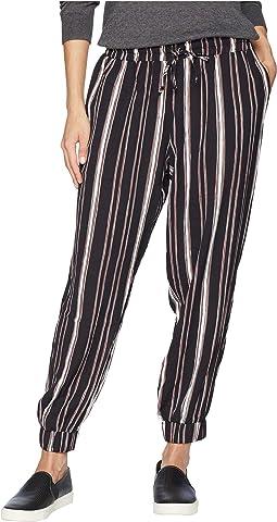 Stripe Jogger Pants