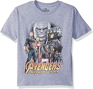 Boys Infinity War Thanos Vs Avengers S/S T-Shirt