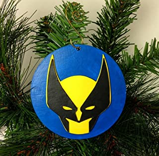 Wolverine Ornament   X-Men   Marvel   Comic Book Gifts   The Avengers   Fantastic Four   Stan Lee   Rear View Mirror   Gift Exchange