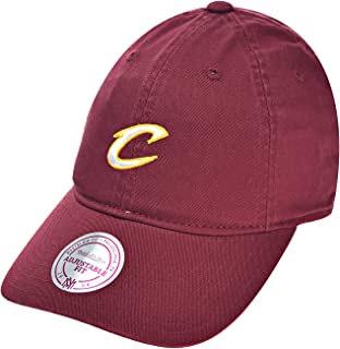 Cleveland Cavaliers Team Prim Color Men's Strapback Hat Burgundy qa60z-5caval