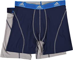 adidas - Sport Performance ClimaLite 2-Pack Boxer Brief