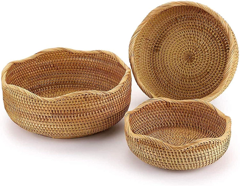 Ranking TOP8 WXXMZY Rattan Storage online shop Basket Egg Bamboo Fruit Portable