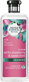 Herbal Essences bio: renew White Strawberry & Sweet Mint SHAMPOO, 400 ml, No Parabens No Colorants