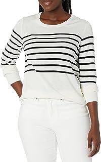 Amazon Essentials suéter ligero de cuello redondo para mujer
