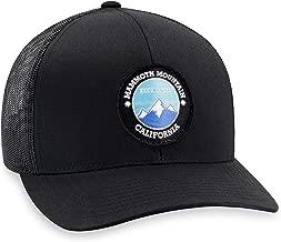 Mammoth Mountain Hat - Trucker Mesh Snapback Baseball Cap - Black