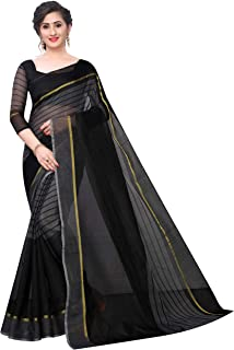 TDC Games Cotton Saree with Blouse Piece