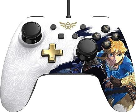 Controle Para Nintendo Switch PowerA Iconic - Zelda Breath of the Wind