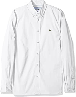 Mens Slim Fit Stretch Cotton Poplin Shirt