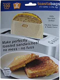 Toastabags Reusable Non-Stick Sandwich/Snack
