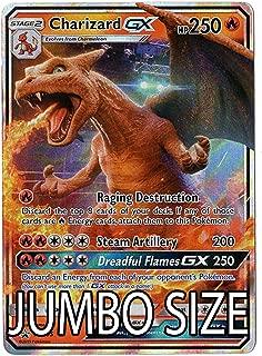 Jumbo Size - Charizard GX - SM195 - Detective Pikachu Promo Card - Holo FOIL