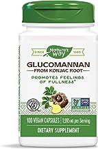 Nature's Way Premium Herbal Glucomannan from Konjac Root, 1,995 mg per serving, 100 Capsules