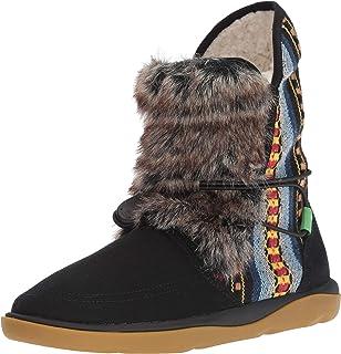 barato Sanuk Sanuk Sanuk Wohombres Tripper Flurry Mid Calf bota, negro, 09 M US  ventas en línea de venta