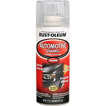 Rust-Oleum Automotive 257884 11-Ounce Enamel Spray, Gloss Clear