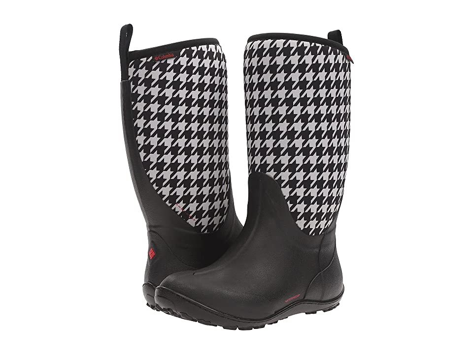 Columbia Snowpow Tall Print Omni-Heat (Black/Burnt Henna) Women