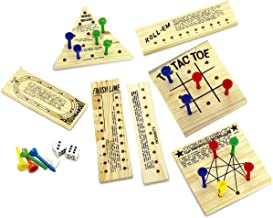 Fine Life Products Peg Games Novelty Game Set, 34 pieces