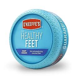 O'Keeffe's Healthy Feet Foot Cream, 3.2 ounce Jar