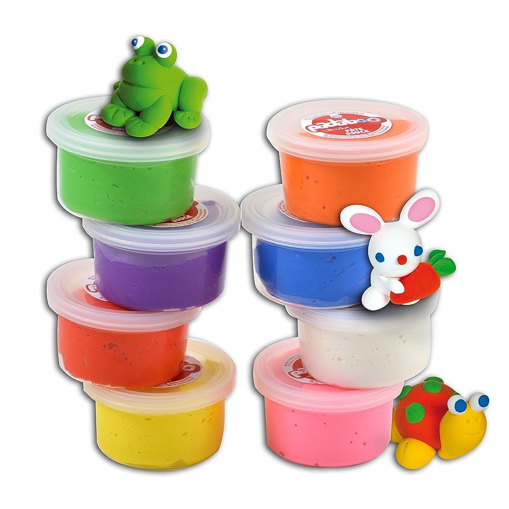 Padaboo pmz805?Assortment 8?Pots Play Dough 28?x 18?x 4?cm Multi-Coloured