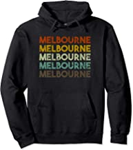 Retro Melbourne Australia Hoodie
