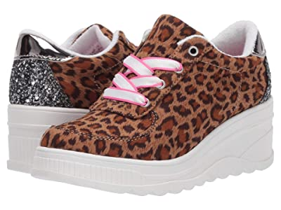 Steve Madden Kids Lala (Little Kid/Big Kid) (Leopard) Girls Shoes