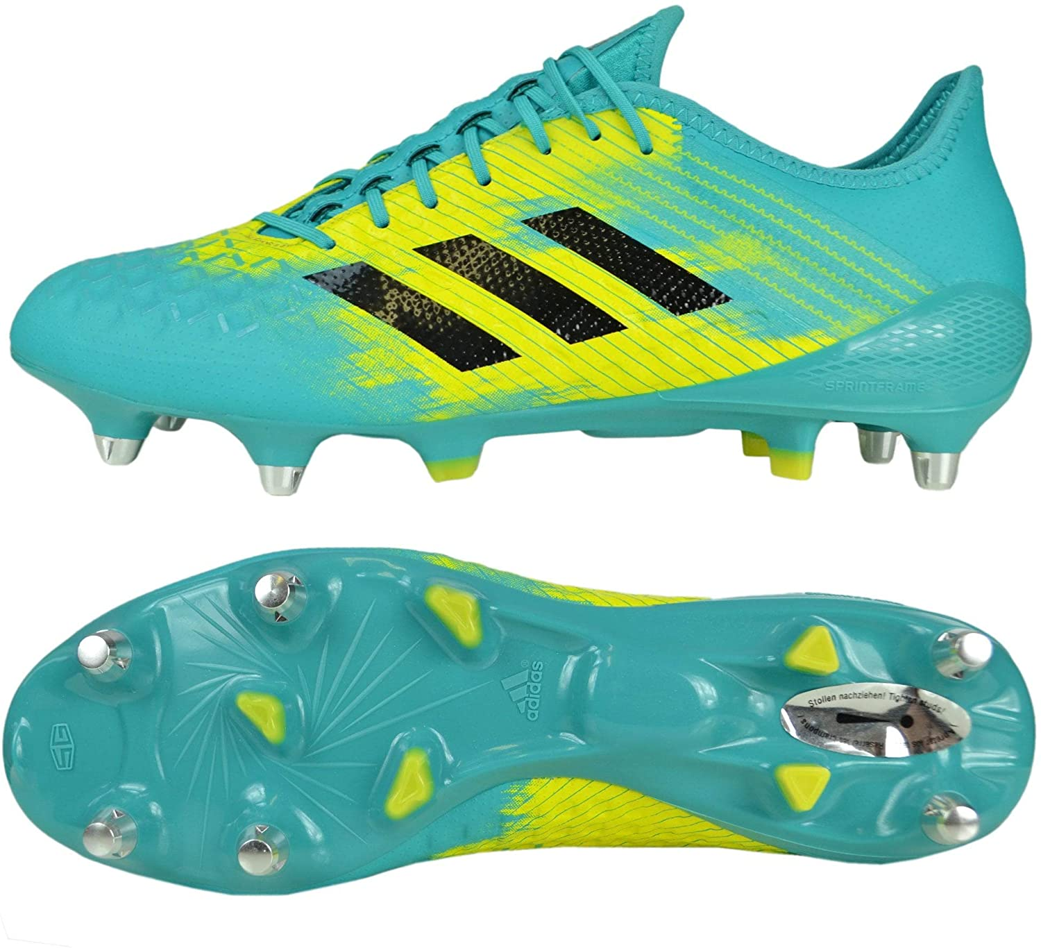 cuadrado Pino Fraternidad  adidas Malice Control (Sg) Rugby Shoes: Amazon.co.uk: Shoes & Bags