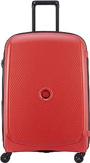 Delsey Paris Belmont Plus 70 cm 4 Wheels Trolley Suitcase (Hardside) Red (00386182004)