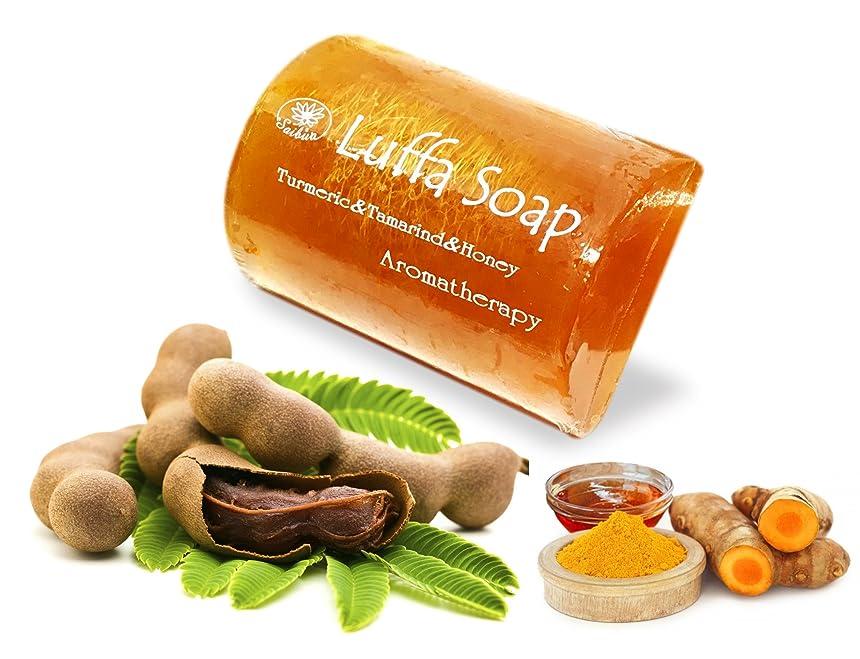 間違えたグラディスジャンプするMangos Teen. Tamarind Soap Turmeric Honey Luffa Saibia Soap Aroma Scrub Herbal Relaxing After Work Sport Middle the Soap made from Herbs and Honey as a main Ingredient Suitable for all Skin Types