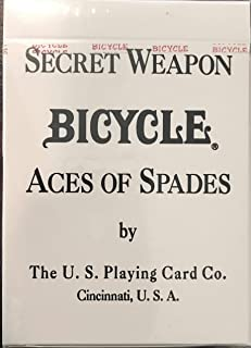 Bicycle Desert Shield Ace of Spades Playing Cards 808 Deck