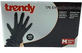 MC-Trend 100 guanti usa e getta in TPE, senza polvere e lattice, in scatola dispenser (etichetta in lingua italiana non ga...