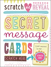 scratch and see secret message cards