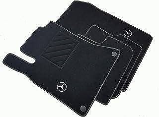 Tappetini personalizzati.. Per Mercedes 190 w201 VELLUTO ROSSO SET COMPLETO