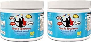 Simple Spectrum Supplement Powder - 30 Servings (Pack of 2) - High-Potency Multivitamin/Mineral for Kids and Adults