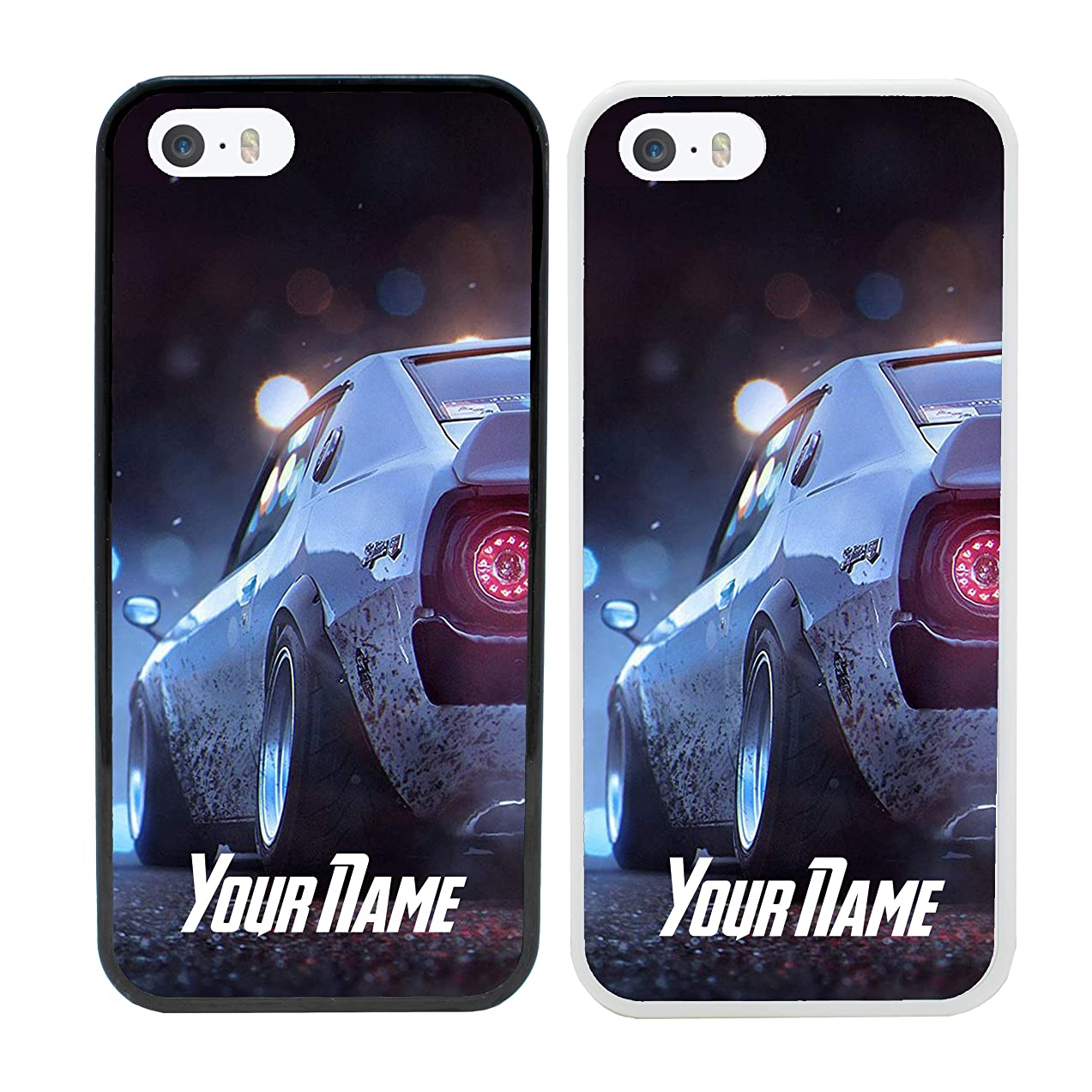 Boy Racer Personalised Phone Case for Apple iPhone 7 Plus Smartphone Custom Cover Personal Your Name Bumper 5.5