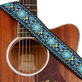 navy guitar strap
