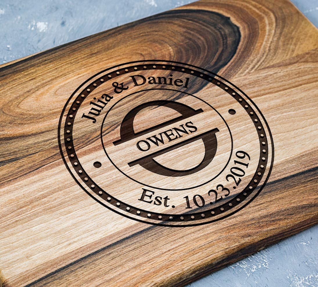 Manufacturer direct delivery Max 41% OFF Personalized Cutting Board Anniversary Gifts or - Gift Wedding f