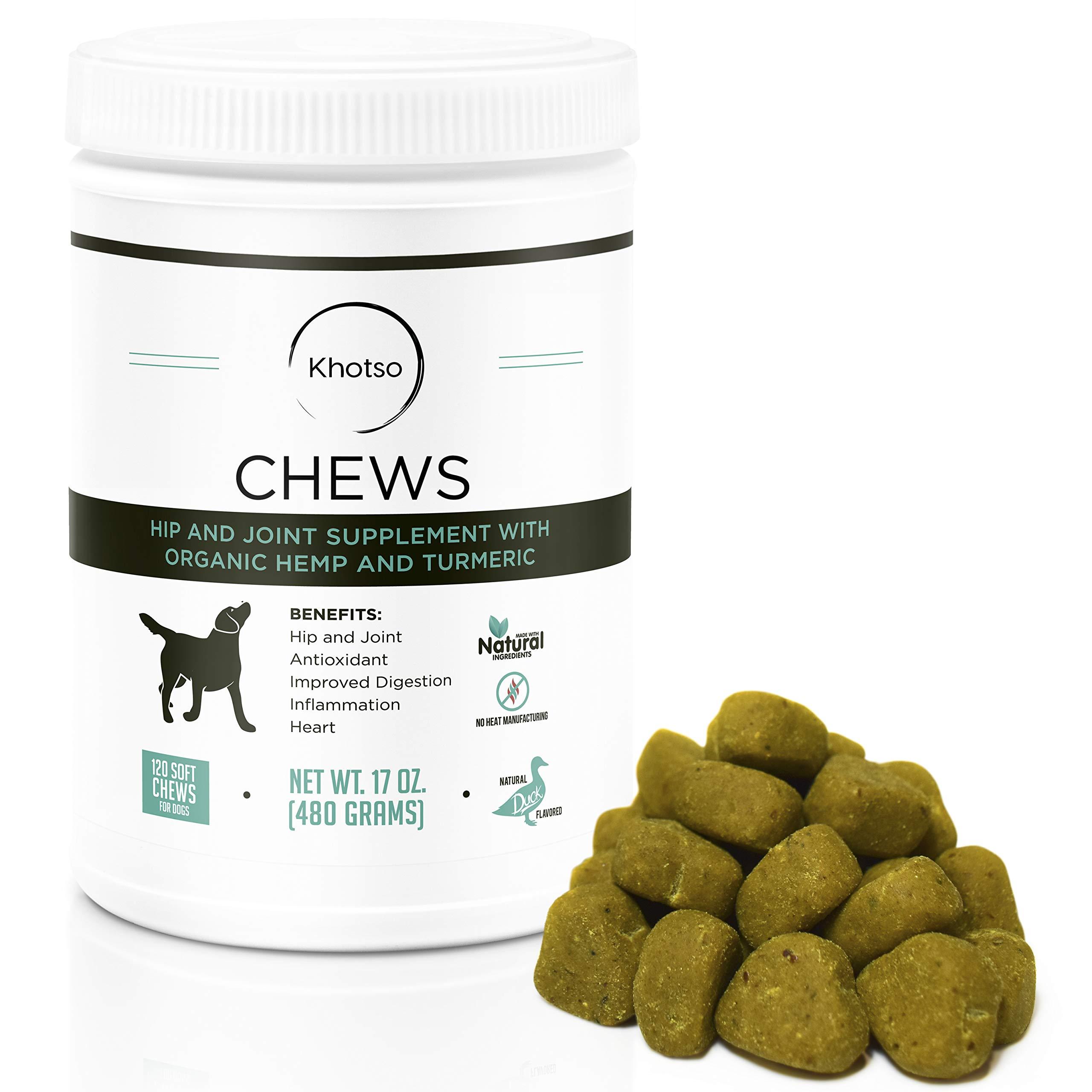Glucosamine Dogs Arthritis Khotso Supplement
