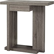 Monarch Specialties Hall Console Accent Table, 32, Dark Taupe