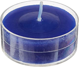 Zest Candle 50-Piece Tealight Candles, Blue