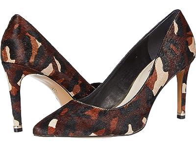 Kenneth Cole New York Riley 85 Pump (Brown Haircalf) High Heels