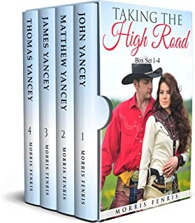 Taking the High Road Box Set 1-4: Christmas Holiday Western Romance 2019