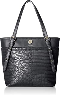 Anne Klein Pocket Tote, Black