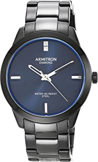 Armitron Men's Genuine Diamond Dial Bracelet Watch, 20/5409