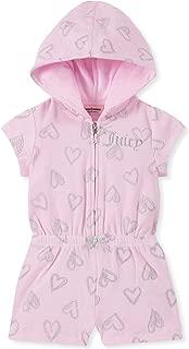 Baby Girls' Hooded Romper