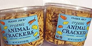 Trader Joes Organic Animal Crackers---2 pkgs.