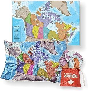 Scrunch Map of Canada