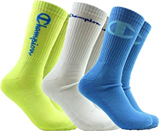 Champion LIFE Men's 3 Pair Core Essential Sock Assortment