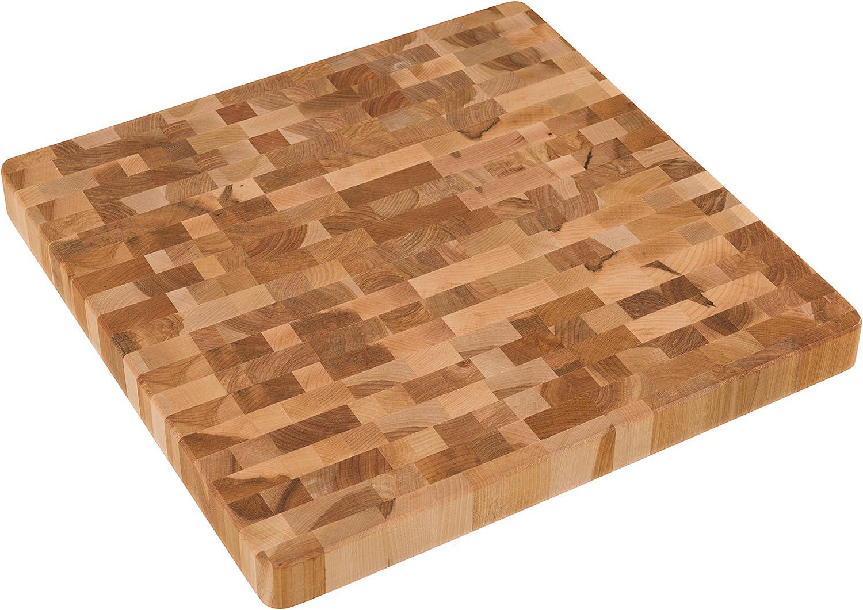 Labell Boards L14144 Manufacturer OFFicial shop End Grain Maple Block 14Wx14L Max 43% OFF Butcher