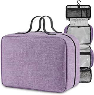 INNObeta KlyN 7.0 Liter Hanging Toiletry Bag for Men and Women, Mens Travel Dopp Kit with Detachable TSA Approved Clear Pouch